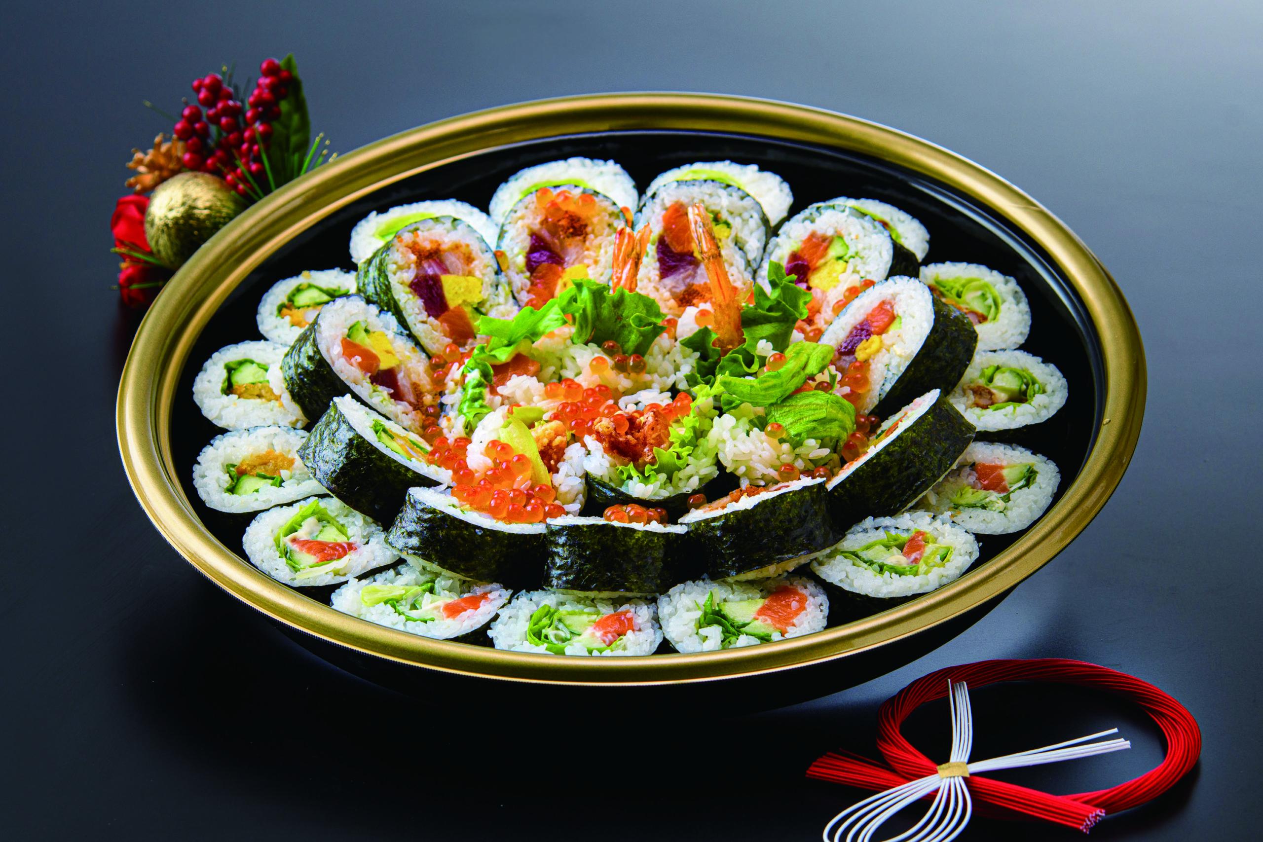 年末 巻き寿司 十勝
