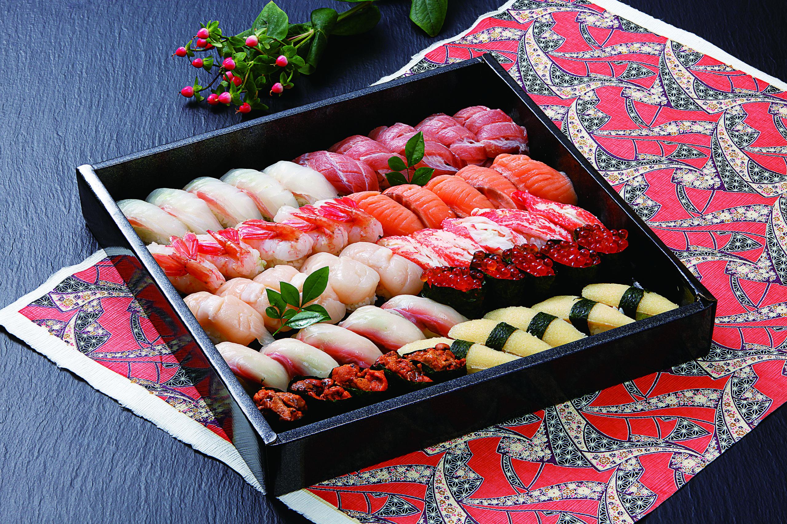 握り寿司 十勝