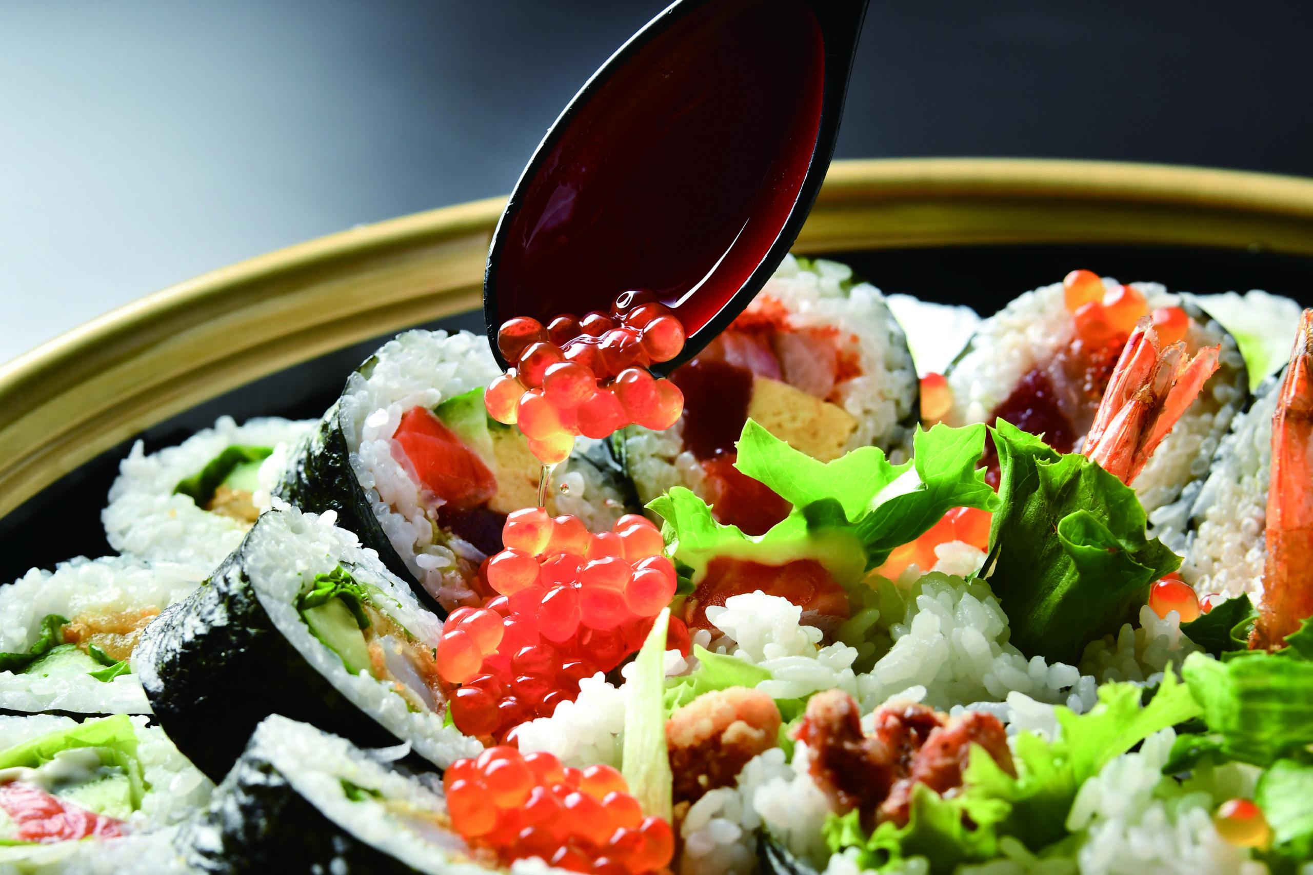 巻き寿司 いくら