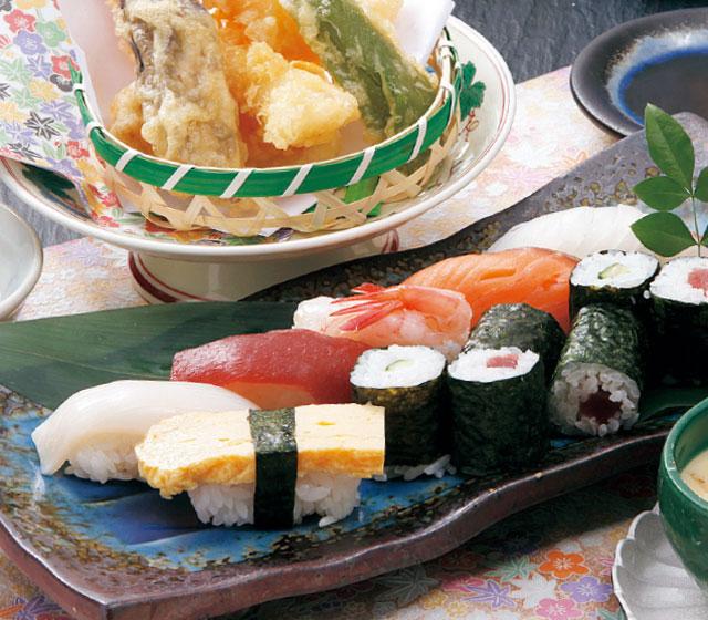 おまかせ寿司・天ぷら膳