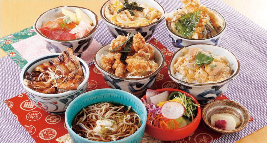 選べる丼と麺のお得セット